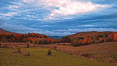 Fall Scenery In The Canadian Countryside Print by Chantal PhotoPix