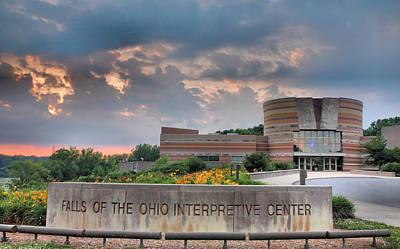 Clarksville Photograph - Falls Of The Ohio Interpretive Center I by Steven Ainsworth