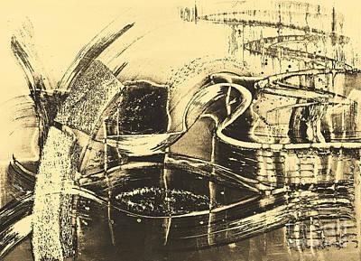 Fantasy In Monotone Print by Emilio Lovisa