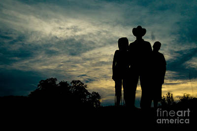 Cowboy Photograph - Farmer Family by Andre Babiak