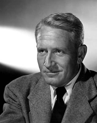 Fathers Little Dividend, Spencer Tracy Print by Everett