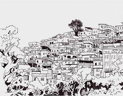 Favelas  Print by Ben Leary