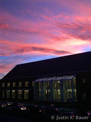 University Of Arkansas Photograph - Fayetteville Sky by Justin Bauer