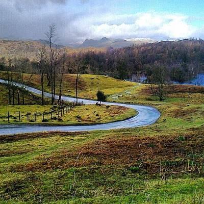 Mountain Photograph - February In The Lakes by Nic Squirrell