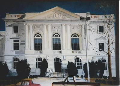 Federal Government Painting - Federal Building Macon Ga by Terry Forrest