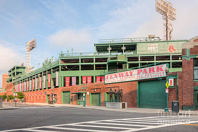 Crosswalk Photograph - Fenway Park I by Clarence Holmes