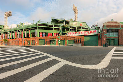 Crosswalk Photograph - Fenway Park II by Clarence Holmes