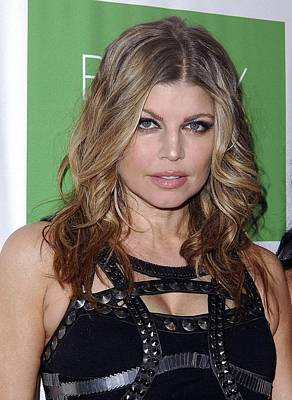Fergie At Arrivals For The Beauty Detox Print by Everett