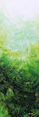 Ferns 2 Print by Hanne Lore Koehler