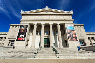 Field Museum In Chicago Print by Paul Velgos