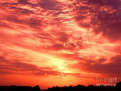 Gicl Photograph - Fiery Sunrise by Graham Taylor
