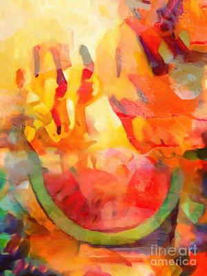 Fiesta Painting - Fiesta by Lutz Baar