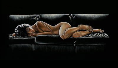 Fifty Shades Of Grey Painting - Fifty Shades by Vanda Luddy