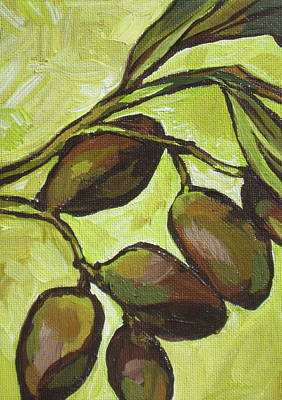 Figs Print by Sandy Tracey