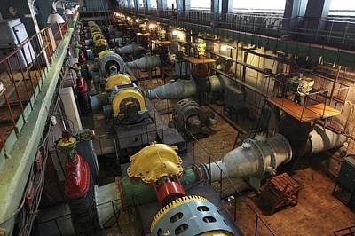 Filtration Pumping House Print by Ria Novosti