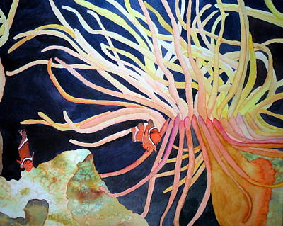 Anemonefish Painting - Finding Nemo by Laurel Best