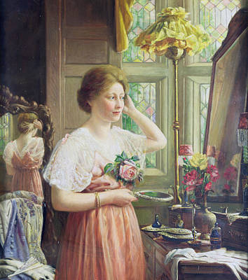 Dressing Painting - Finishing Touches by George Wimpenny