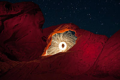 Valley Of Fire Photograph - Firearch by Rick Berk