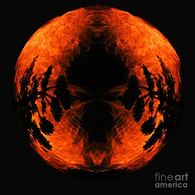 Fireball Print by Jamie Rabold