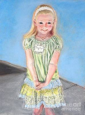 Pride Painting - First Day Of Kindergarten by Susan  Clark