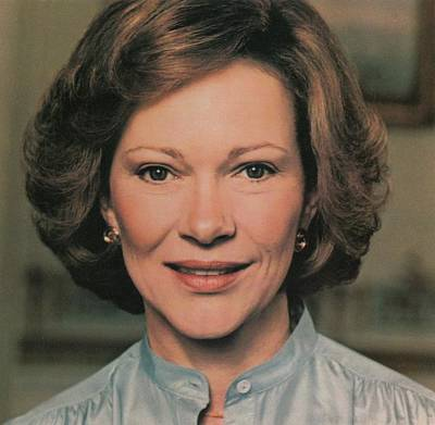 First Lady Rosalynn Carter Print by Everett