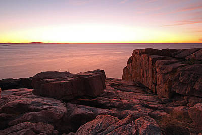 Acadia National Park Photograph - First Light by Juergen Roth