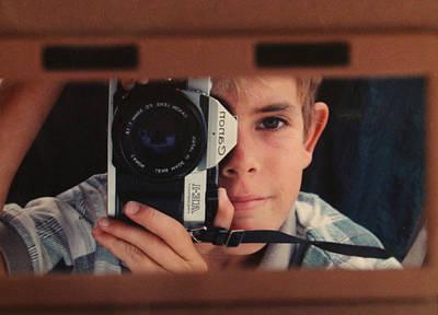 Self-portrait Photograph - First Self-portrait by David Paul Murray