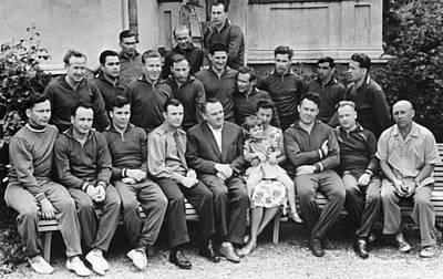 Missing Child Photograph - First Soviet Cosmonaut Squad, 1961 by Ria Novosti
