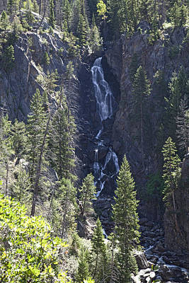 Fish Creek Falls Co. Print by James Steele