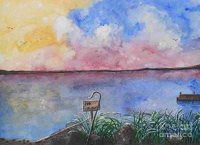 Fishers Of Men Print by Barbara McNeil