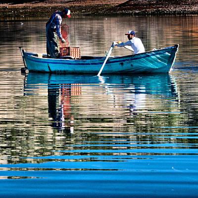 Fishing - 14 Original by Okan YILMAZ