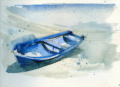 Fishing Boat Print by Stephanie Aarons