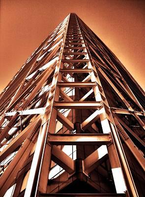 Fenster Photograph - Five Stars ... by Juergen Weiss