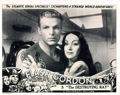 Flash Gordon, Chapter 5 The Destroying Print by Everett