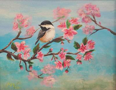 Flathead Spring Blossoms Print by Misty Mueller