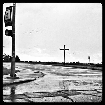 Flawed Streets, Flawless Sky Print by Kel Hill