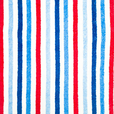Fleece Background Print by Tom Gowanlock