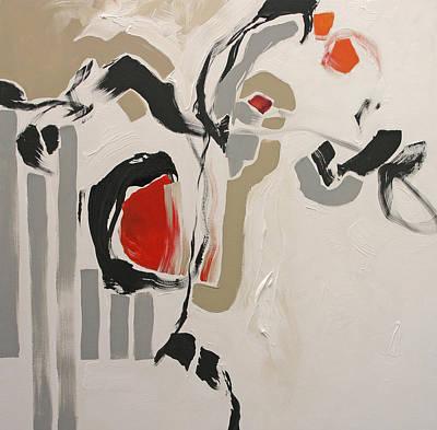 Award Winning Artist Painting - Fleeting by Linda Monfort