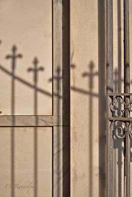 Metairie Cemetery Photograph - Fleur-de-lis by Cheri Randolph