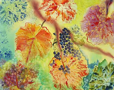 Floating Print by Karen Fleschler