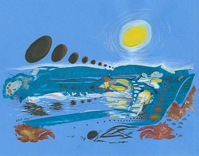 Flood Scape Print by Ralf Schulze