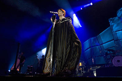 Florence And The Machine Print by Jenny Potter