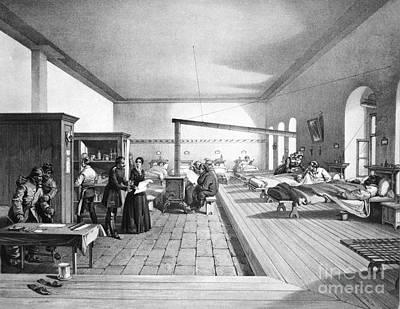 Florence Nightingale, English Nurse Print by Photo Researchers, Inc.