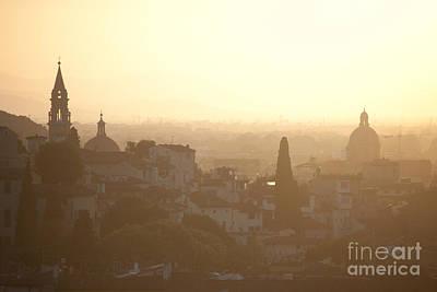 Florentine Sunset Print by Steven Gray