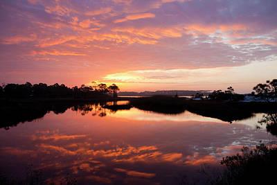 Florida Sunrise Print by Charles Warren