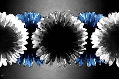 Flower Board3 Print by Mark  Ross