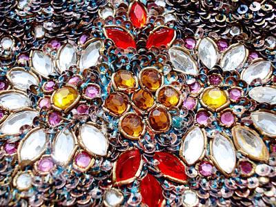 Flowers Photograph - Flower Of Beads by Sumit Mehndiratta