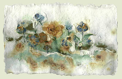 Painting - Flowers Forever by Adele Greenfield