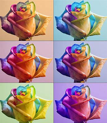 Flowers Print by Yosi Cupano