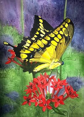 Flutter-by Print by Karen Casciani